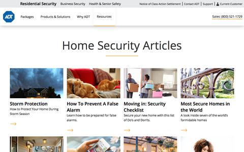What is Home Security | Home Security Resources from ADT