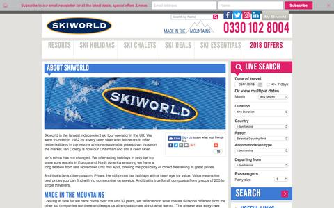 About Skiworld |The UK's Largest Independent Ski Operator