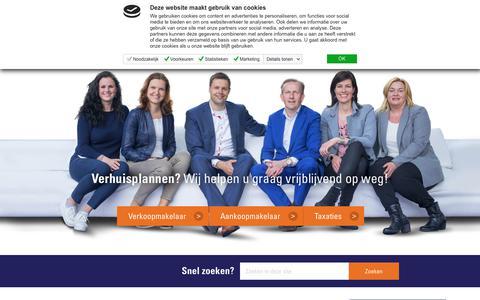 Screenshot of Home Page plaggemarsmakelaars.nl - Dé Makelaar in Regio Wierden en Almelo - Plaggemars Makelaars - captured July 19, 2018