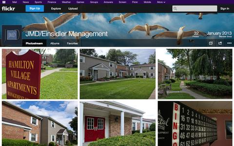 Screenshot of Flickr Page flickr.com - Flickr: JMD/Einsidler Management's Photostream - captured Oct. 23, 2014