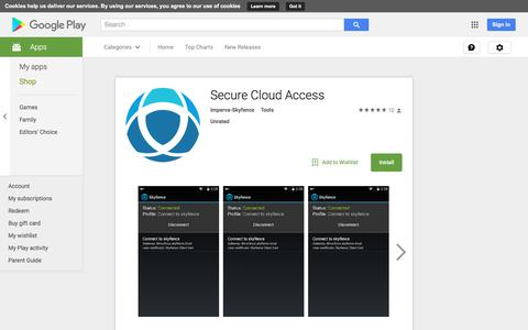 Secure Cloud Access - Android Apps on Google Play