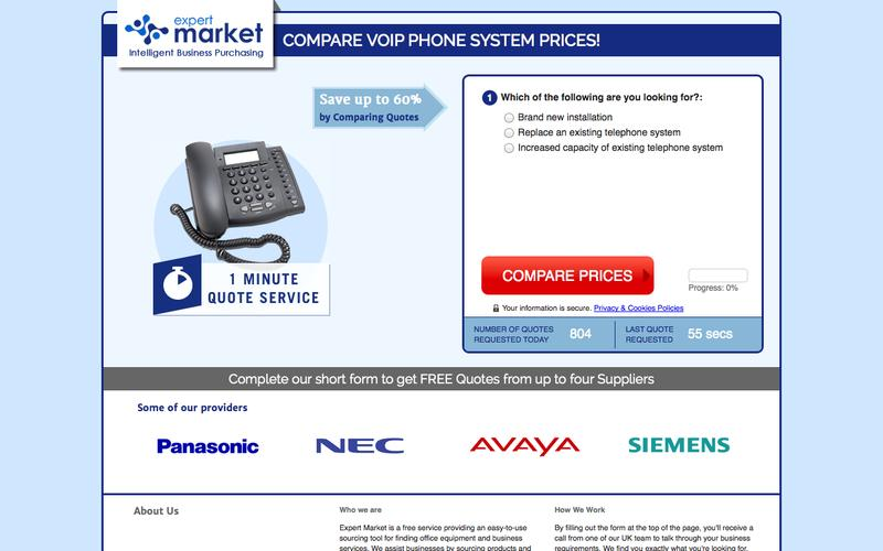 EM US Telephone Systems VoIP [1072] | Expert Market US