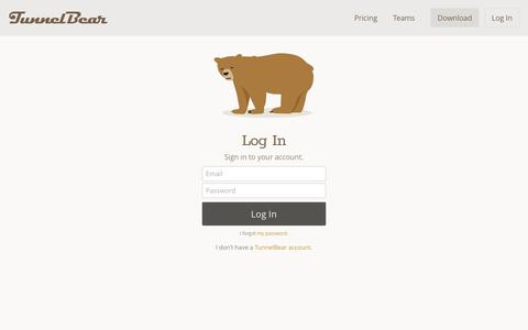 Screenshot of Team Page tunnelbear.com - TunnelBear for Teams - captured Jan. 15, 2018