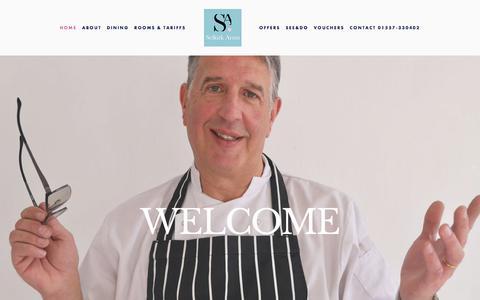 Screenshot of Home Page selkirkarmshotel.co.uk - Selkirk Arms Hotel - captured July 26, 2018