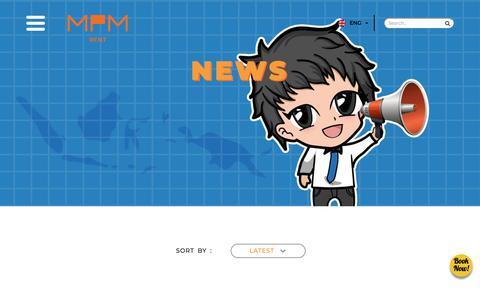 Screenshot of Press Page mpm-rent.com - News | MPM Rent, We Serve You Better - captured Sept. 26, 2018