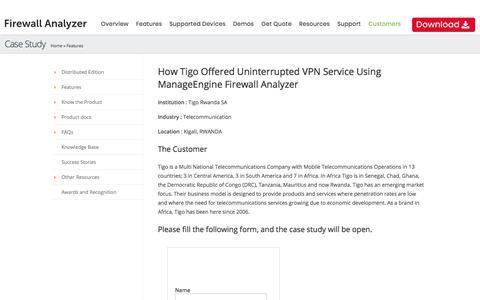 Firewall Log Analysis and Reporting Software :: Firewall Analyzer - ThyssenKrupp - Case Study