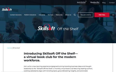 Off the Shelf - Skillsoft