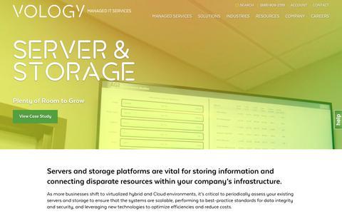 Screenshot of vology.com - Vology - captured Oct. 1, 2017