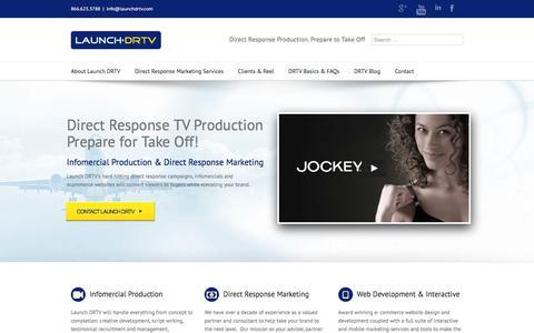 Infomercial Production & Direct Response Marketing | Launch DRTV