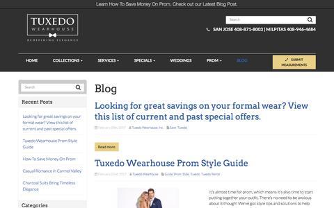 Blog - Milpitas & San Jose   Tuxedo Wearhouse
