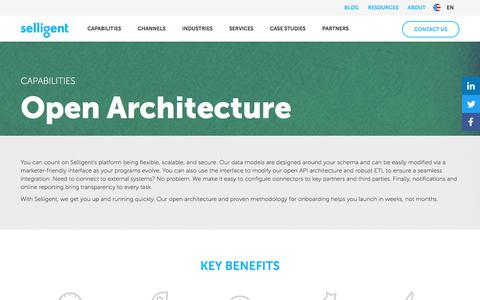 Open Architecture | Selligent