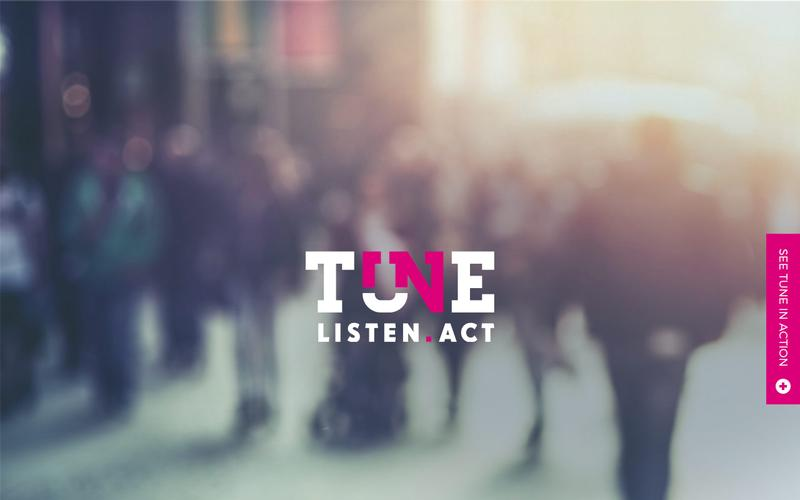 Tune. Listen. Act
