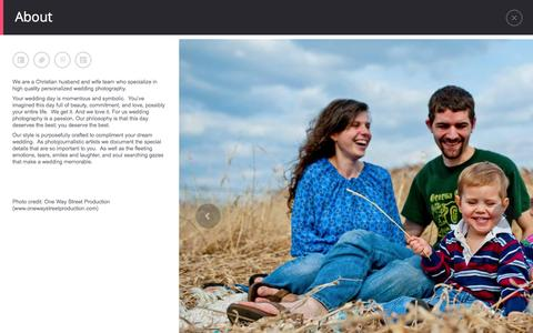 Screenshot of About Page schneiderfamilyphotography.com - About - Schneider Family Photography - captured Dec. 22, 2015