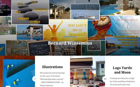 Screenshot of Blog wordpress.com - Blog – Bernard Winsemius - captured Oct. 20, 2018