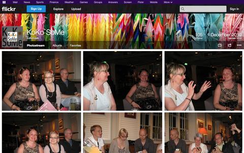 Screenshot of Flickr Page flickr.com - Flickr: KoKoSoMe's Photostream - captured Oct. 23, 2014
