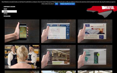 Screenshot of Press Page visualmafia.de - Media Archive - visualMAFIA - captured Oct. 20, 2018
