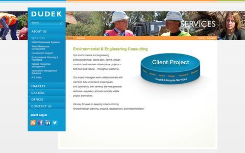 Dudek | Services