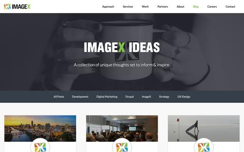 Screenshot of Blog imagexmedia.com - What is Drupal CMS? Find Answers to This & More   ImageX Blog - captured Nov. 6, 2018