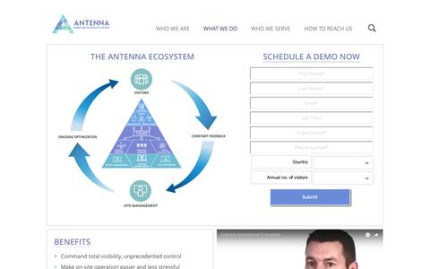Antenna International   » Antenna Ecosystem