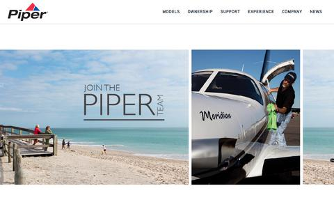 Screenshot of Jobs Page piper.com - Careers - Piper - captured Sept. 28, 2018