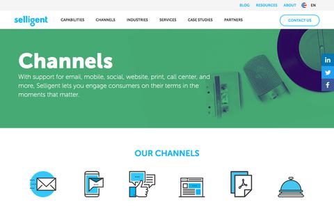 Channels | Selligent