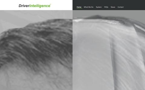 Screenshot of Home Page driver-intelligence.com - Home   Driver Intelligence - captured Oct. 5, 2014