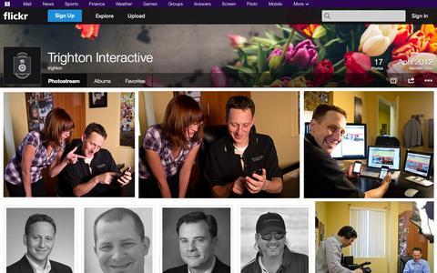 Screenshot of Flickr Page flickr.com - Flickr: trighton's Photostream - captured Oct. 25, 2014