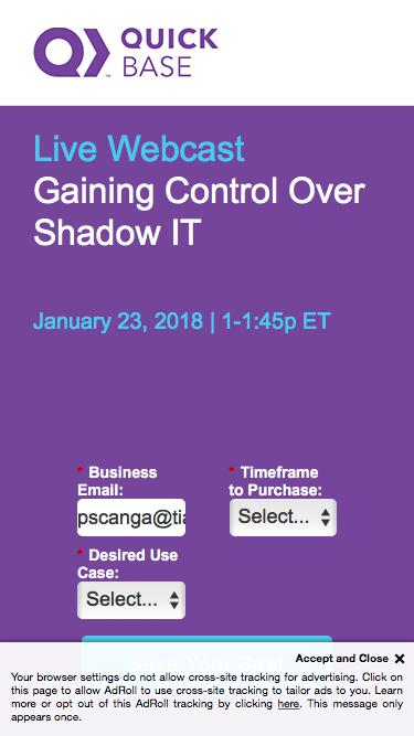 Gaining Control Over Shadow IT
