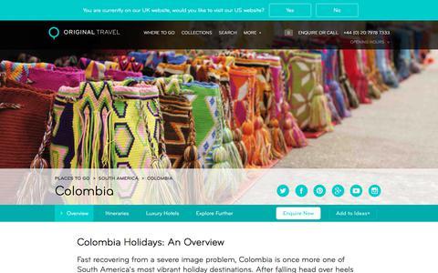 Luxury Holidays Colombia | Coastline, Coffee & Rich History