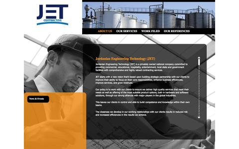 Screenshot of About Page jet-contracting.com - Jet Contracting Co - captured Oct. 6, 2014
