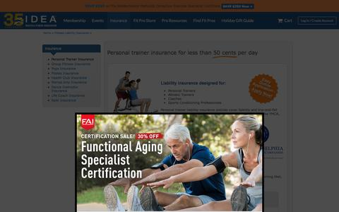 Personal Trainer Insurance - Personal Training Insurance
