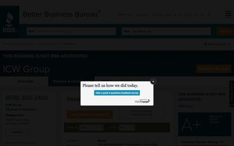 Better Business Bureau: Start With Trust