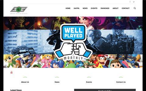 EGE – eSport Gaming Events | Canadian eSports Events