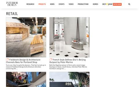 Retail   Interior Design Projects