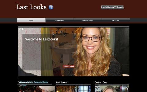 Screenshot of Home Page trista.info - last-looks-2014 - captured Oct. 6, 2014