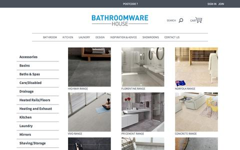 Designer, Mosaic, Feature and Neutral Tiles | Bathroomware House