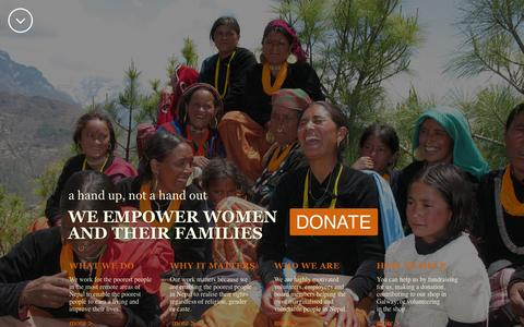 Screenshot of Terms Page foundation-nepal.org - Home - Foundation Nepal - captured Sept. 30, 2014
