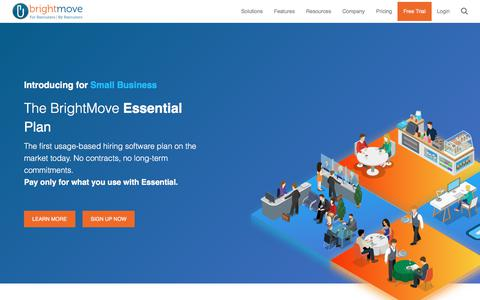 BrightMove Applicant Tracking System | BrightMove