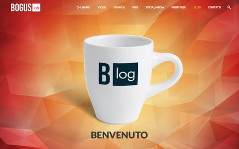 Screenshot of Blog boguslab.com - Blog - BOGUS lab • Video | Grafica | Web | Social | Eventi • Viareggio | Lucca | Toscana | Italia - captured Nov. 6, 2018