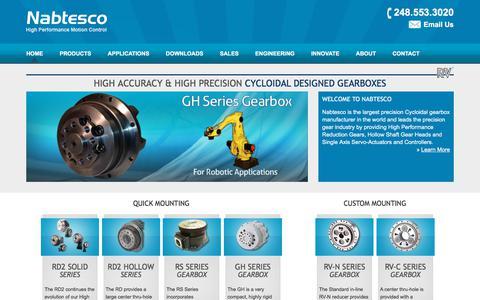 Cycloidal Gearbox, Reduction Gear, Gear Head, Gear Manufacturer, Nabtesco