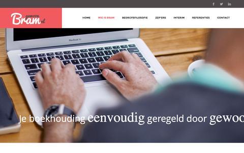 Screenshot of Home Page gewoonbram.nl - Home � Gewoon Bram - captured Dec. 9, 2015