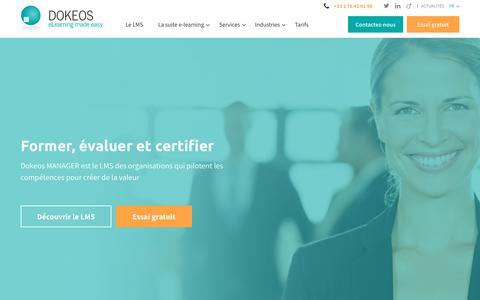 DOKEOS - LMS et Suite E-learning pour former en ligne