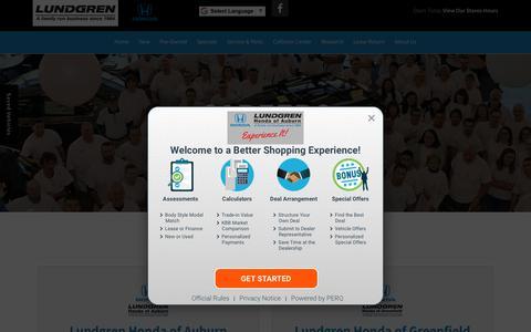 Screenshot of Jobs Page lundgrenhonda.com - Worcester Dealership Automotive Jobs | Lundgren Honda - captured July 24, 2018