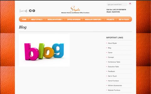 Screenshot of Blog styalo.com - Blog  –   Styalo.com - captured Sept. 30, 2014