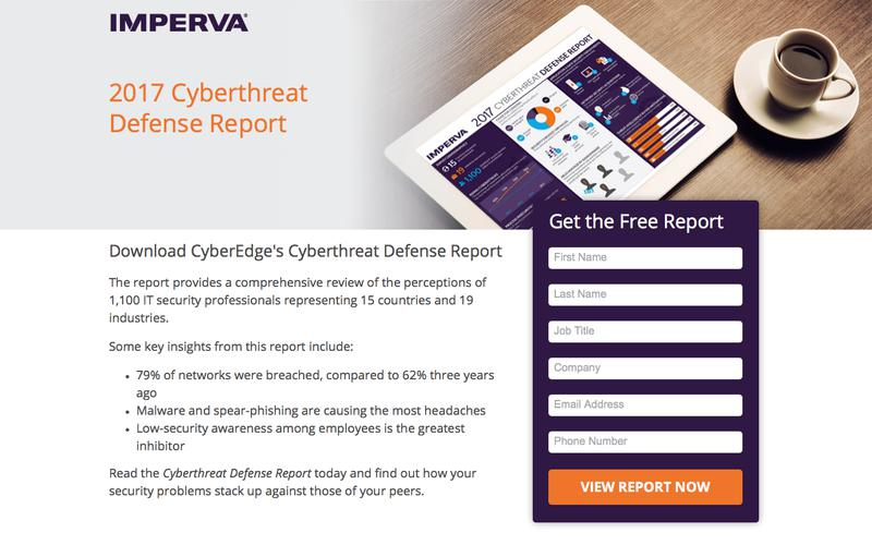 Cyberthreat Defense Report 2017