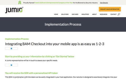 Implementation Process - Jumio