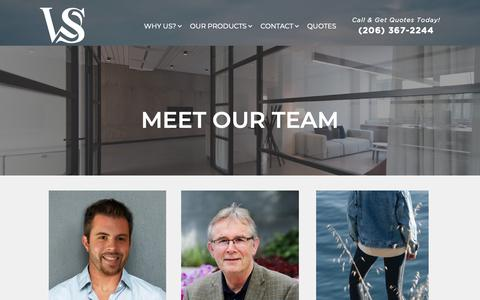 Screenshot of Team Page youragt.com - Team | Woodward-Scott Agency - captured May 30, 2019