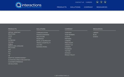 Screenshot of Case Studies Page interactions.com - Case Studies - Interactions - captured May 9, 2017