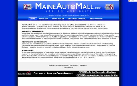 Screenshot of About Page maineautomall.com - MaineAutoMall.com - captured Oct. 2, 2014