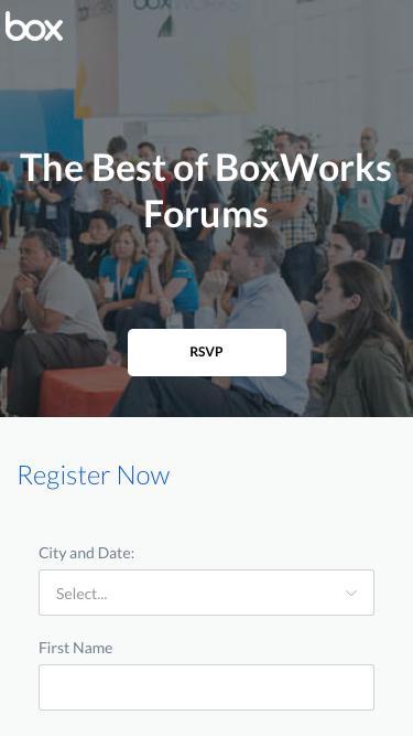 Best of BoxWorks Forum